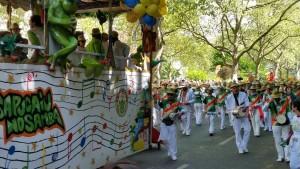 Pfingsten ist das Wochenende für Karneval der Kulturen.