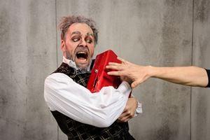Der Geizige von Molière demnächst im Pfefferberg Theater. Foto: KIKE Photographie