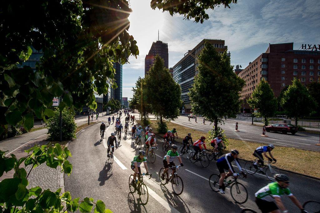 Das Velothon führt durch sieben Berliner Bezirke. Foto: Velothon