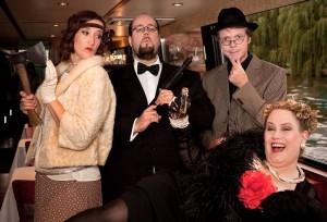 Wirklich ein illustres Quartett - Gauner, Ganoven und sogar ein Mörder unter ihnen? Foto: Vincent Chmiel