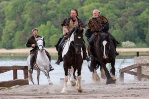 Wilde Reiterszenen halten die Zuschauer in Atem.