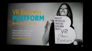 Die VR Business Plattform stellte sich vor.