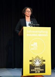 Dr. Beatrice Kramm, Präsidentin der Industrie- und Handelskammer zu Berlin.