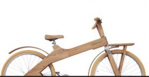 Mit diesen Holzrädern geht es durch Deutschland.