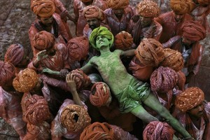 Holi Man © Steve McCurry