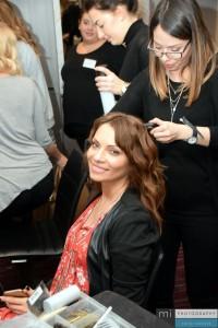 Moderatorin Jean Bork kriegt die Haare schön!