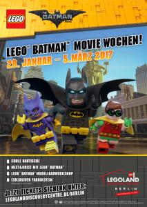 Batman im Legoland.