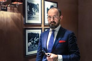 André Goerner, Inhaber des Gentlemen's Circle.