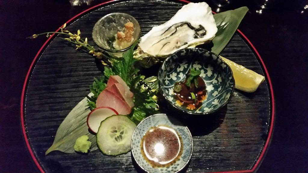 Eine köstliche Auswahl erlesener japanischer Spezialitäten.