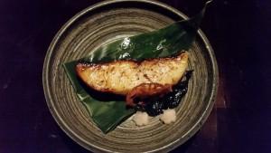 Grilled Saikyo Black Cod.