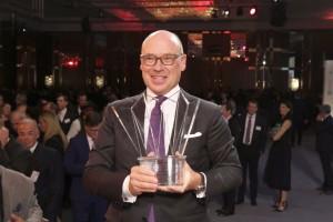 """Der """"Special Award"""" ging an Dr. Christian Harisch, Geschäftsführer der Lanserhof GmbH aus Lans bei Innsbruck."""