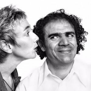 Ameli Fried und Mohammed Isso. Foto: Herlinde Koelbl