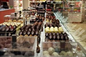 Feinste Schokoladen und Pralinen bei Neuhaus.