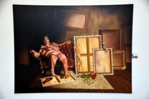 """""""Die alte Hure Kunst"""" von Torsten Gebhardt."""
