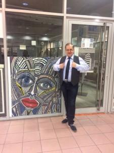 Galerist Joachim Dikmayer feiert 25-jähriges Bestehen.