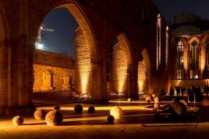 Paradise Found heißt das kommende musikalische Programm in der Ruine der Franziskaner-Klosterkirche, die aus dem 14. Jahrhundert stammt.