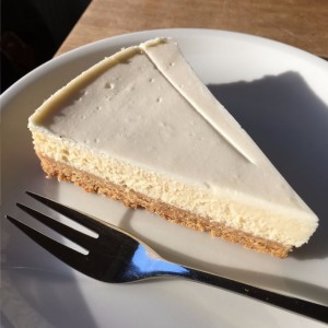 Der New York Cheesecake.