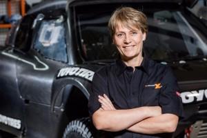 Jutta Kleinschmidt spricht über Innovationen in der Mobilitätsbranche.
