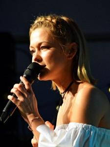 Sängerin Linda Hesse.