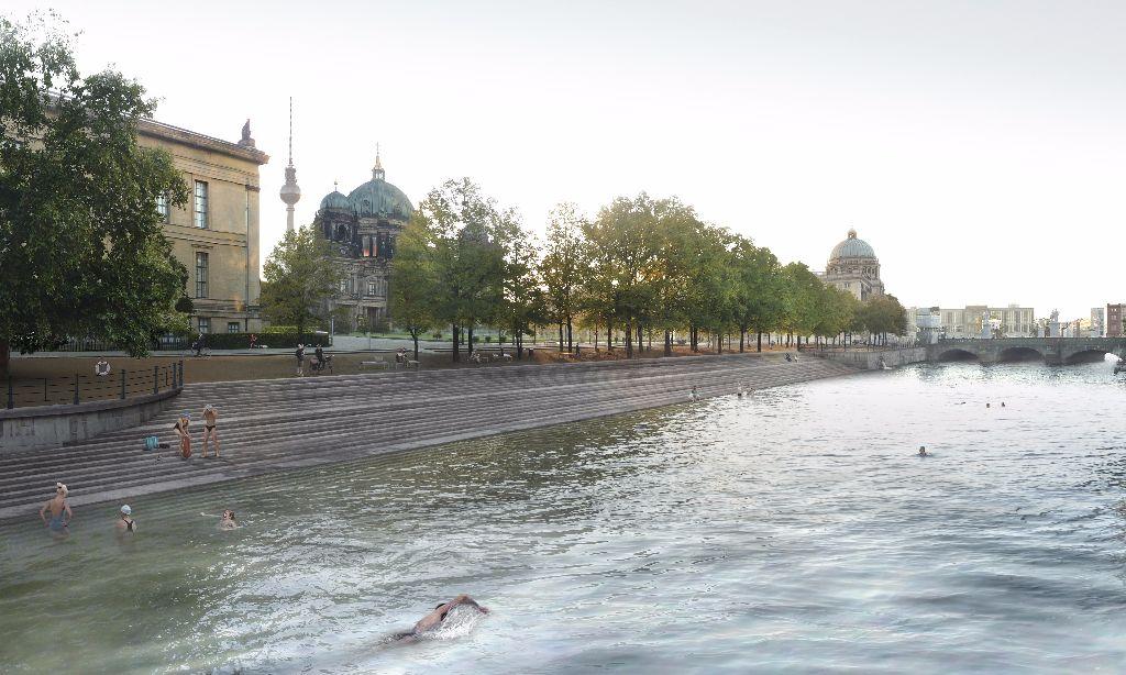 So wünscht sich der Flussbad-Verein die künftige Badestelle.