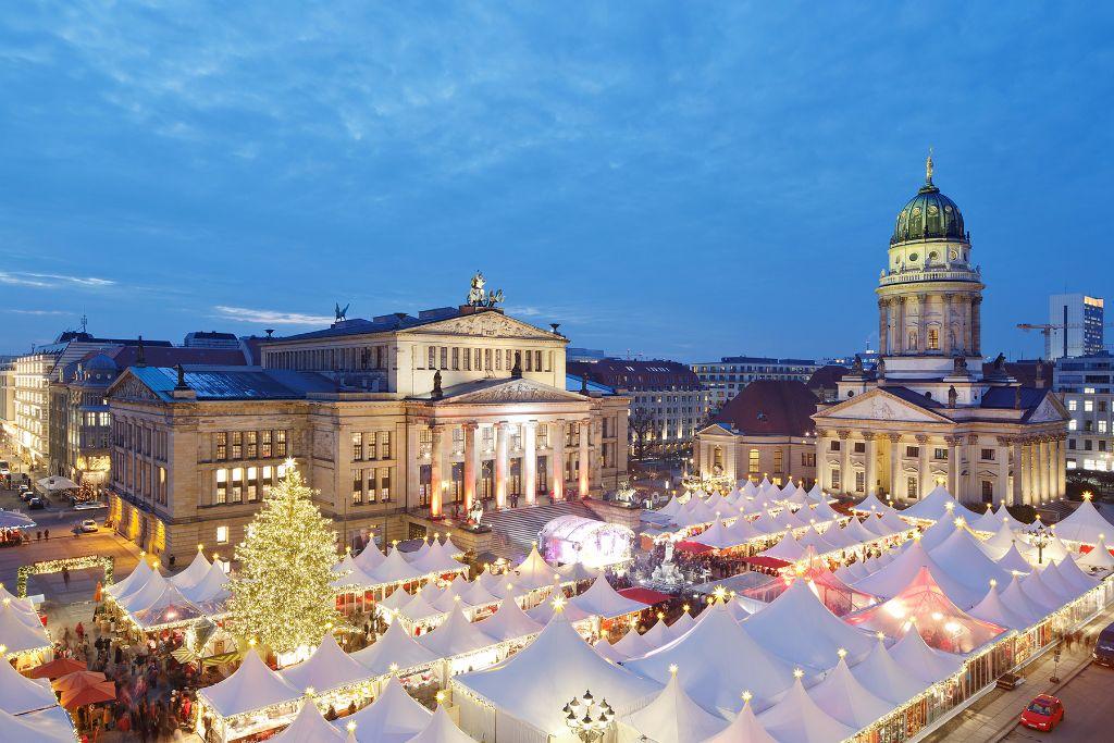 In diesem Jahr muss der weihnachtliche Zauber auf dem Gendarmenmarkt ausfallen.