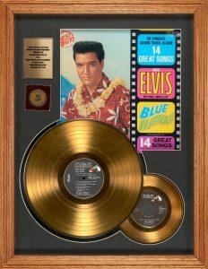 Goldene Schallplatte von Elvis Presley