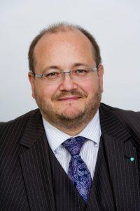 Nils Busch-Petersen, Hauptgeschäftsführer des Handelsverbandes Berlin-Brandenburg.