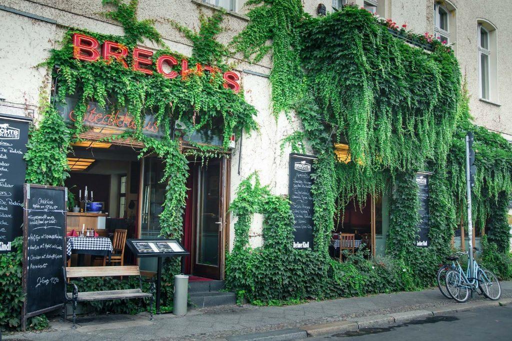 Brechts Steakhaus am Schiffbauerdamm.