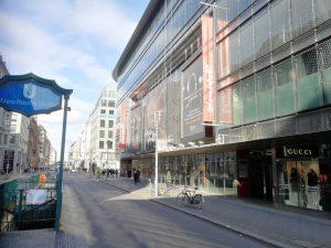 Berlins Einkaufsstraßen - dazu gehört auch die Friedrichstraße in Mitte.