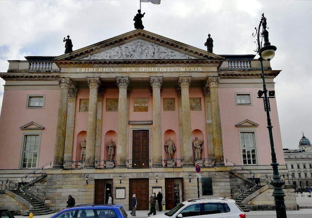 Staatsoper Unter den Linden.
