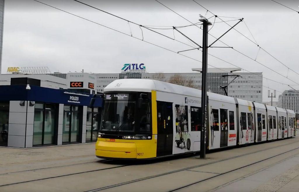 Straßenbahn Alexanderplatz