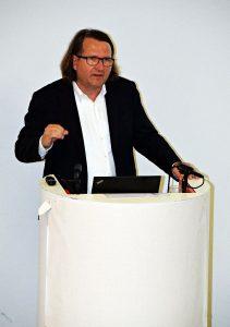Architekt Johannes Milla erklärte das Projekt.