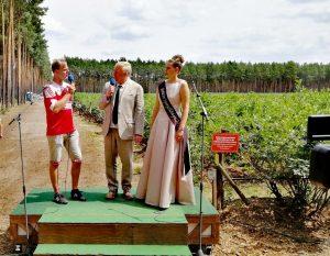 Offizielle Eröffnung der Heidelbeersaison