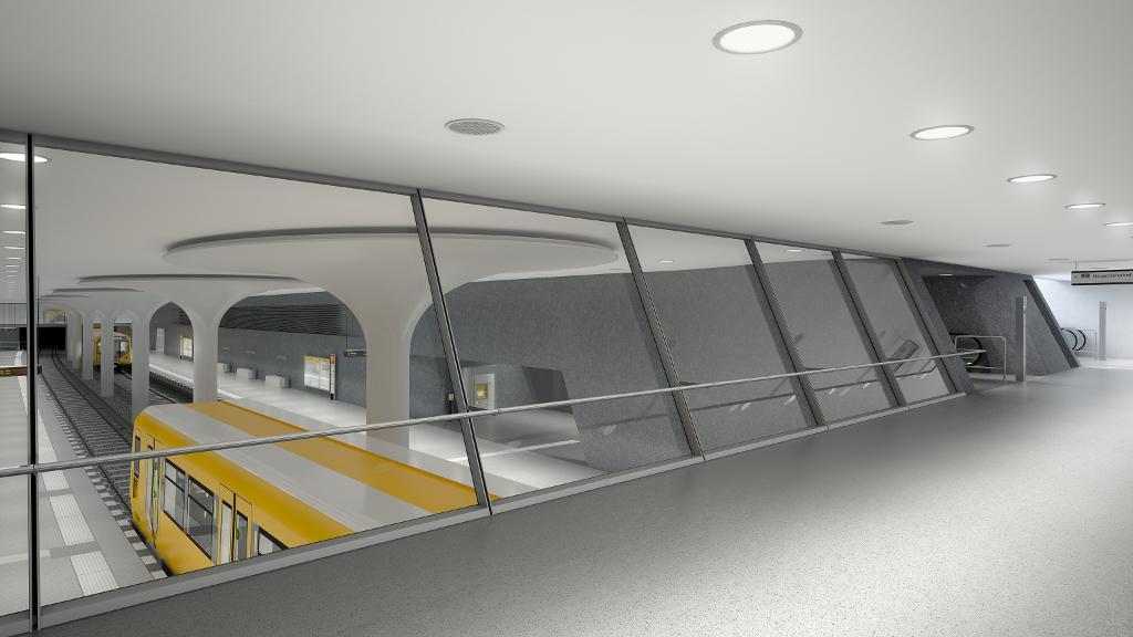So soll der Bahnhof aussehen, wenn er 2020 in Betrieb geht.