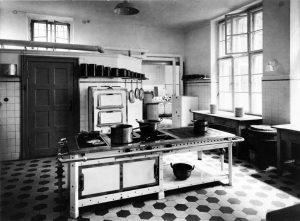 Blick in die ehemalige Küche