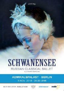 Weltklassiker Schwanensee des Russian Classical Ballet.
