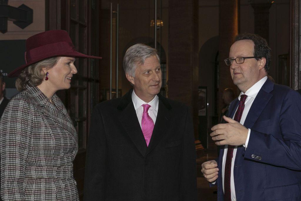 Das belgische Königspaar zu Besuch im Deutschen Historischen Museum DHM.
