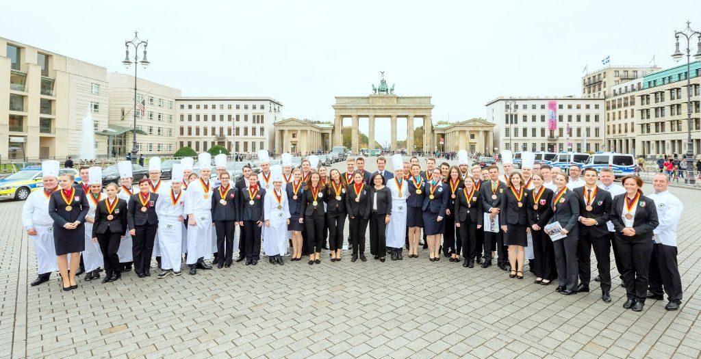 Der Nachwuchs im Gastgewerbe glänzte in Berlin.