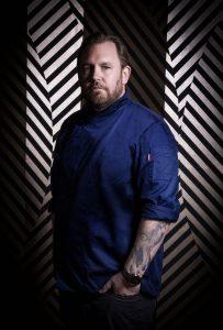 Küchenchef Björn Swanson.