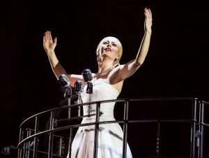 Evita - das Musical im Admiralspalast.Evita - das Musical im Admiralspalast.