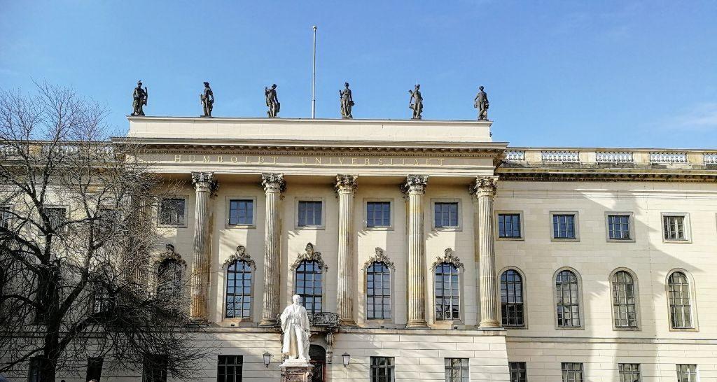 Musiker der Humboldt Universität Berlin spielen Gustav Mahler zum Humboldt-Jahr.