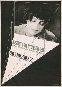 """""""Laster der Menschheit"""", ein Entwurf von Jan Tschichold 1927. © Staatliche Museen zu Berlin/Kunstbibliothek, Familie Tschichold"""