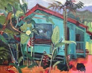 Werk aus der neuen Ausstellung Hawaii von Susanne Rikus.