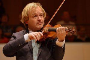 Violinist Michael Maciaszczyk.