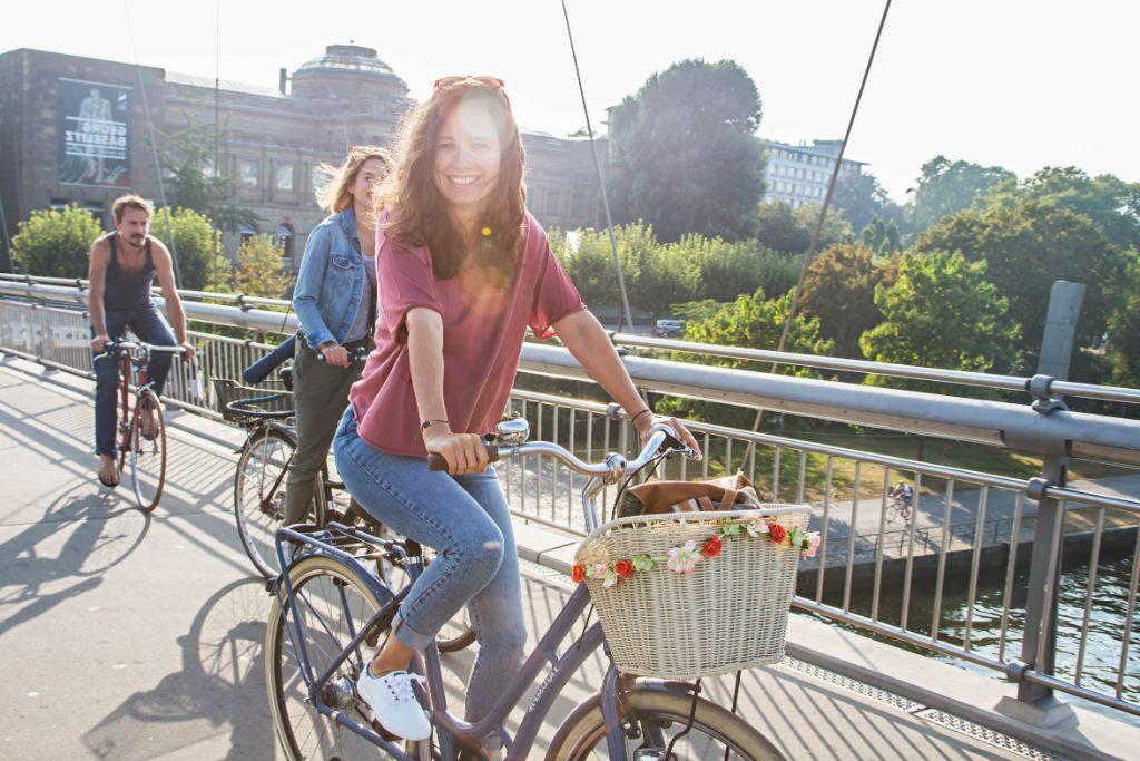 In Mitte sollen Pop-up-Radwege eingerichtet werden. Foto: Klima-Bündnis