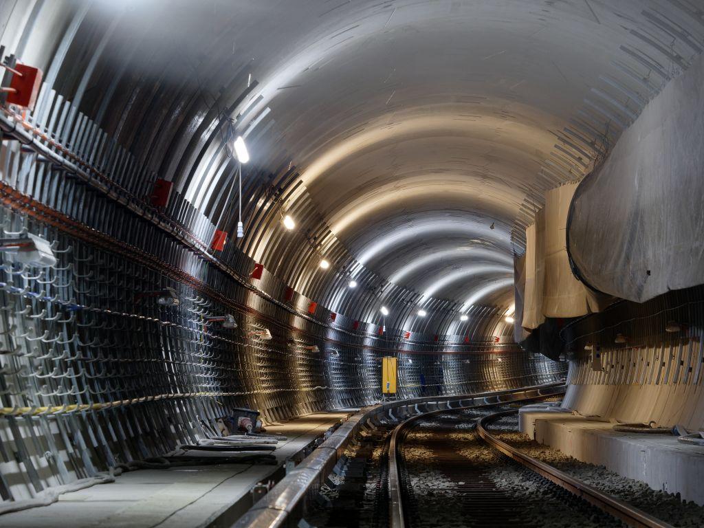 Fast fertig: U5-Tunnel vom Alexanderplatz bis zum Brandenburger Tor.