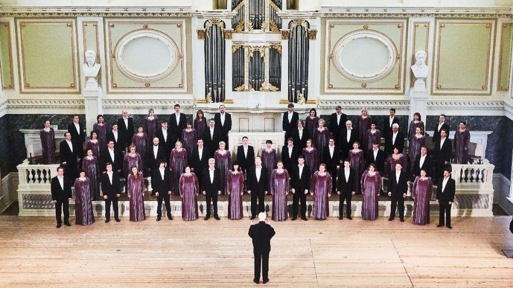 Chorgesang aus Sankt Petersburg im Konzert