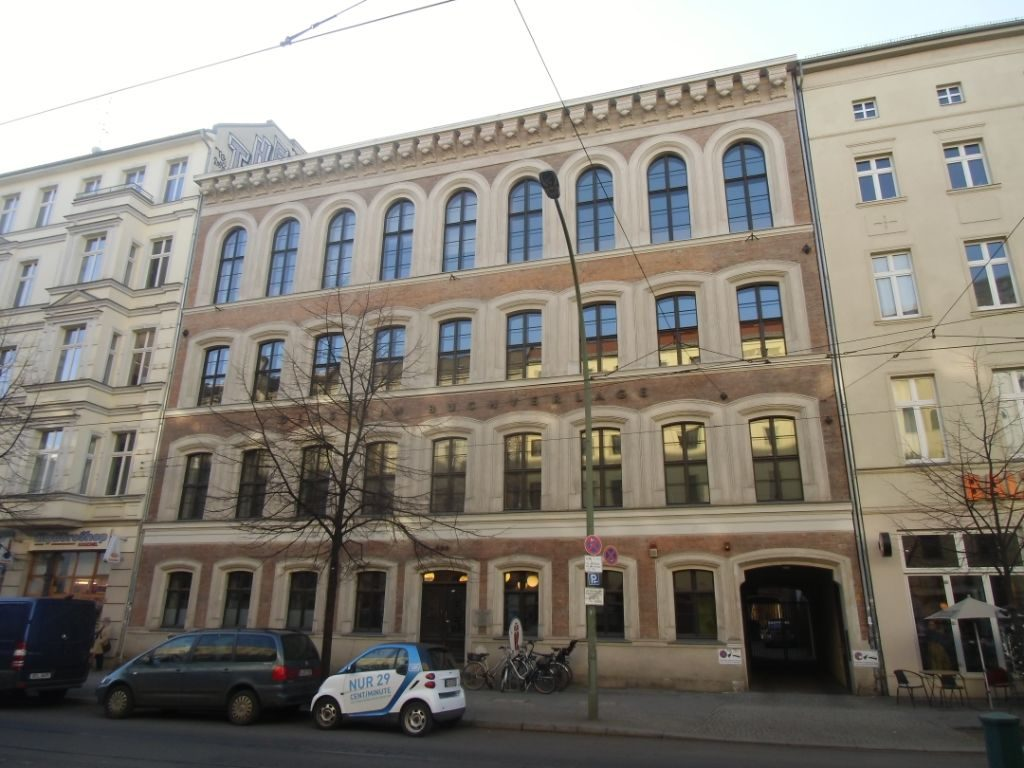 Heutige Ansicht der Friedrichstraße 126. Foto: Harald Neckelmann