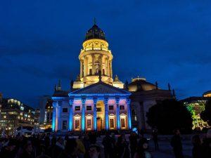 Berlin leuchtet nicht nur am Gendarmenmarkt.