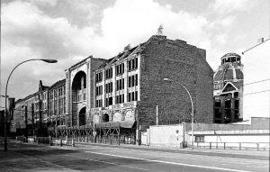 Die Ruine der Friedrichstadtpassage kurz vor dem Abriß 1982.